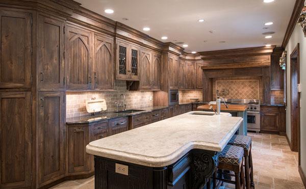 Derek Jeters Castle -- Kitchen