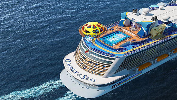 Royal Caribbean's newest vessel, the Odyssey of the Seas. Photo contributed.