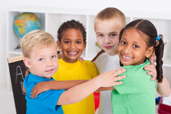 Children enrolled in both online and in-person kindergarten learning will benefit when trusted adults help them learn how to regulate their feelings. Photo credit: (c) Can Stock Photo / michaeljung