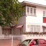 The home, where Trinidad and Tobago-born literary giant, V.S. Naipaul grew up, still stands intact, today, at 26 Nepaul Street in St. James, and is described in his classic novel, A House for Mr Biswas (1963). Photo contributed.