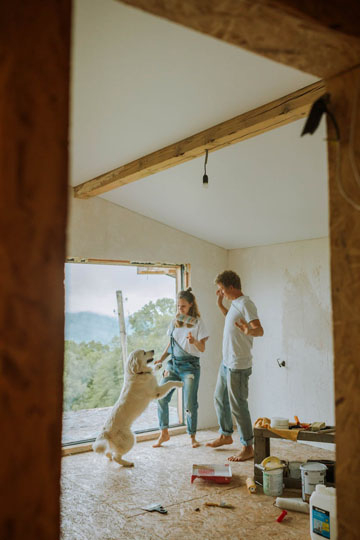 Home renovations are on the rise during the pandemic, but so are their repercussions. Photo credit: Anastasia Shuraeva/Pexels.