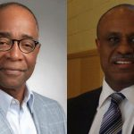 Venerable Black community members, Ken Jeffers (left), is a former manager of access and diversity at the City of Toronto; and Kirk Mark is a former senior manager at the Toronto Catholic District School Board (TCDSB). Photos contributed.