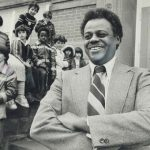Wilson Brooks was hired as the first Black educator in a Toronto public school in 1952, and went on to become the first Black school principal in Toronto. Photo credit: torontopubliclibrary.ca