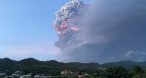 St. Vincent's La Soufriere Volcano Explodes Again, Early Monday Morning