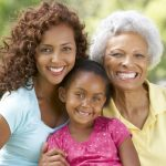 A Grandmother with daughter and granddaughter in a park. Photo credit:  (c) Can Stock Photo / monkeybusiness