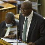 Minister without Portfolio in the Ministry of Economic Growth and Job Creation, Everald Warmington, makes his contribution to the 2021/22 Sectoral Debate in the House of Representatives, on May 5. Photo credit: Donald De La Haye/JIS.