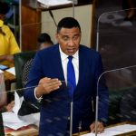 Jamaica's Prime Minister, Andrew Holness, addresses the sitting of the House of Representatives on June 22. Photo credit: Mark Bell/JIS.
