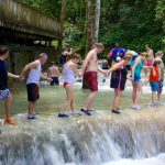 Jamaica's world-renowned Dunn's River Falls in Ocho Rios, St. Ann, remains a popular destination for tourists. Photo: contributed.