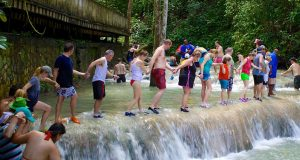 Jamaica's World-renowned Dunn's River Falls Ready For Cruise Visitors