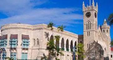 Barbados' Parliament Building.