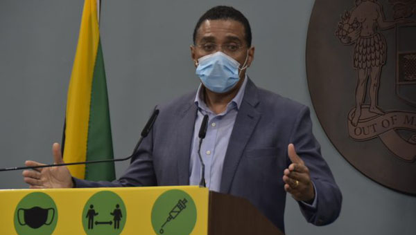 Jamaican Prime Minister Says Relief Found For Oxygen Shortage; No-Movement Days Extended