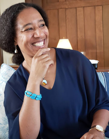 Myriam J.A. Chancy, author of the novel, What Storm, What Thunder. Photo credit: N. Affonso.