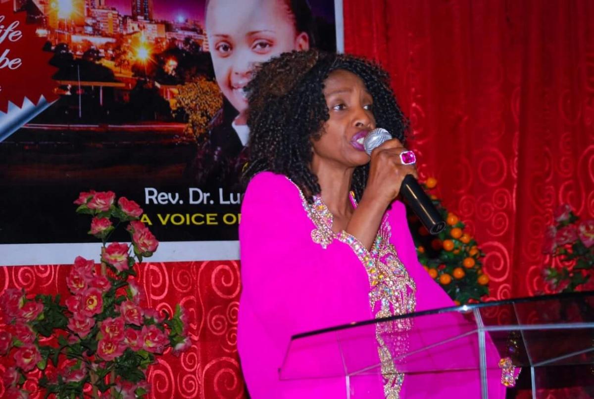 Morris Ministering in Nairobi